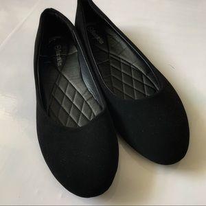 Beauty max black flats